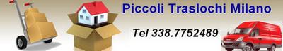 Piccoli traslochi Milano da 50 €